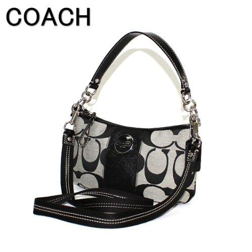179af355d4 Amazon.com Coach Signature Demi Convertible Crossbody Shoulder Small Bag  Black White Athletic Coach Signature Swingpack ...