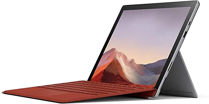 "Microsoft Surface Pro 7 – 12.3"" Touch-Screen - 10th Gen Intel Core i5 - 8GB Memory - 128GB SSD (Latest Model) – Platinum (VDV-00001) | Amazon"