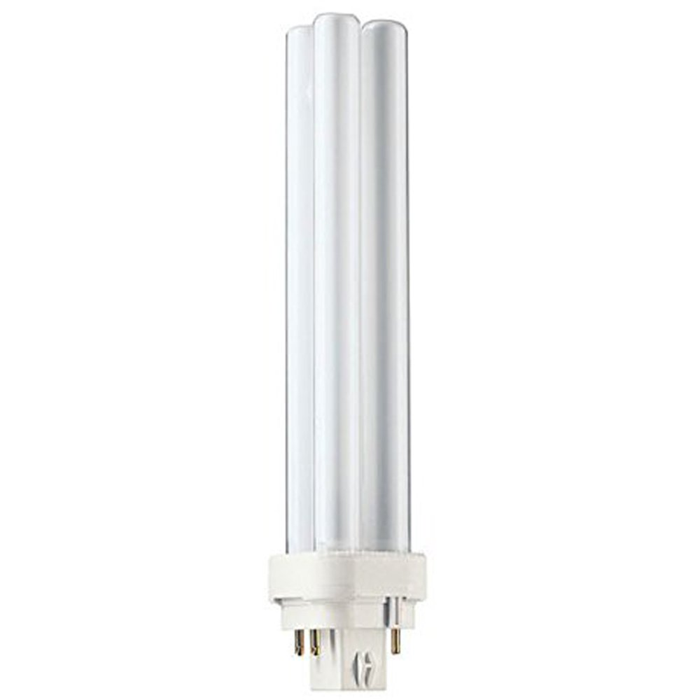 Globe Electric 84486 13-watt CW 120-volt CFL Double Tube with 4-pin Base, 24-Pack