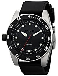 Electric Men's EW0140030001 DW03 PU Band Analog Display Swiss Quartz Black Watch