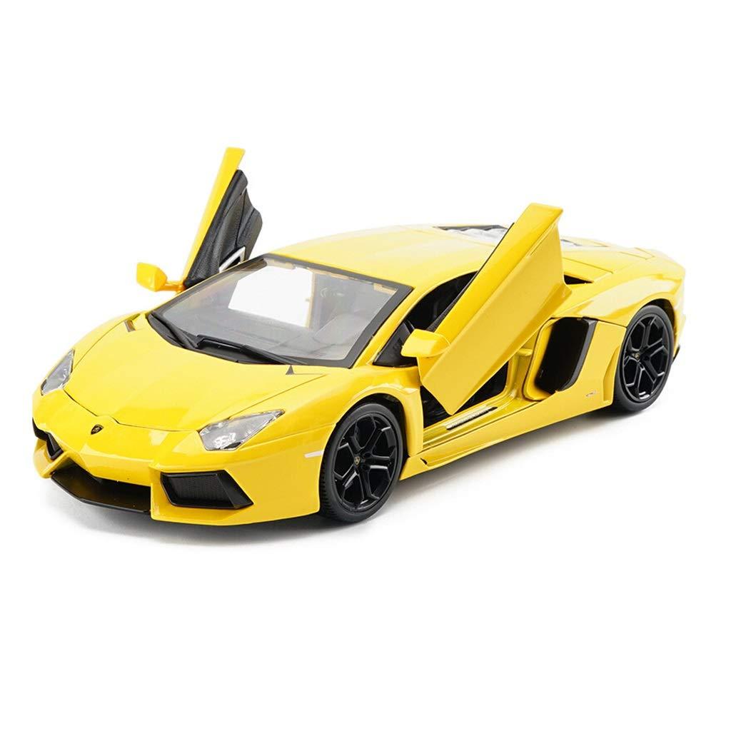 Auto Modello Lamborghini LP700 Modello di Auto in Scala 1 32 Modello di pressofusione Modello statico Modello di Giocattolo Collezione di Ornamenti Regali ( Colore   Giallo )