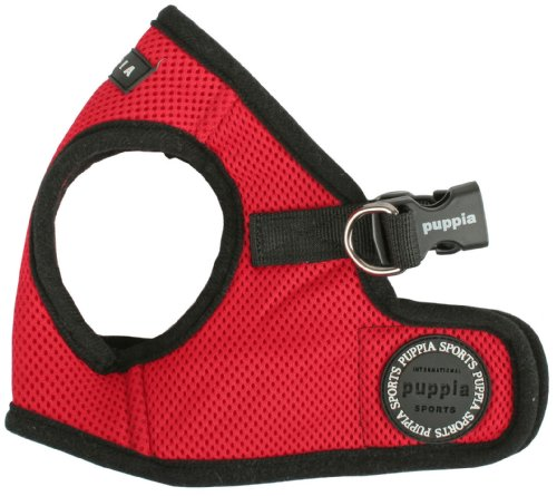 Puppia Vest Harness – Red Large, My Pet Supplies