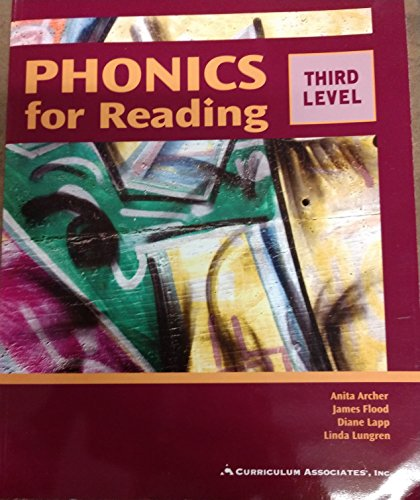PHONICS for READING - THIRD LEVEL