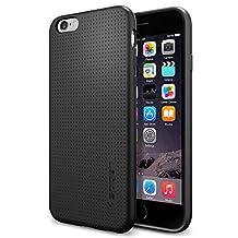 Spigen iPhone 6 Case / iPhone 6s Liquid Air Armor Case with Premium Flexible TPU Soft Case for Apple iPhone 6 / iPhone 6s - Black