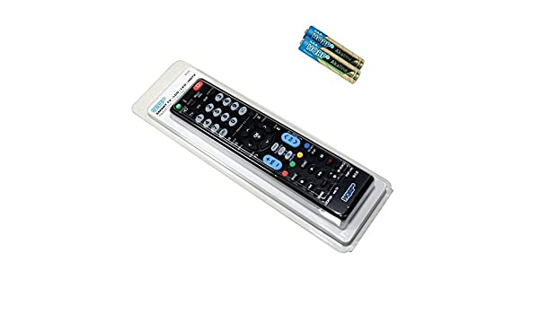 HQRP Mando a distancia universal para LG 43LF5400 / 49LF5400 Televisor UHD (4K) con Smart TV: Amazon.es: Electrónica