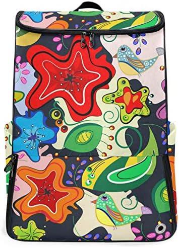 リュック メンズ レディース リュックサック 3way バックパック 大容量 ビジネス 多機能 カラフルな花柄 スクエアリュック シューズポケット 防水 スポーツ 上下2層式 アウトドア旅行 耐衝撃