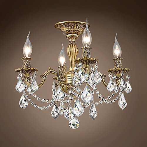 (Joshua Marshal 701585-025 - Traditional Versailles 4 Light 17