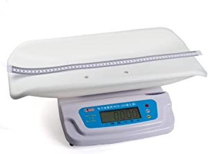 GWW Digital Scale Baby Precision Digital Scale, Height and Weight Measurement, Ergonomic Tray Design, Led Display Function, 100g-20kg (0.22lb-44lb)