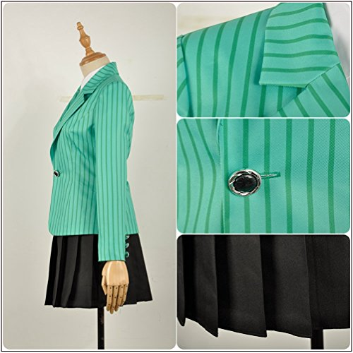 Green Cosplayfly Vestito Heather Duke Donna xwxHgOq0U