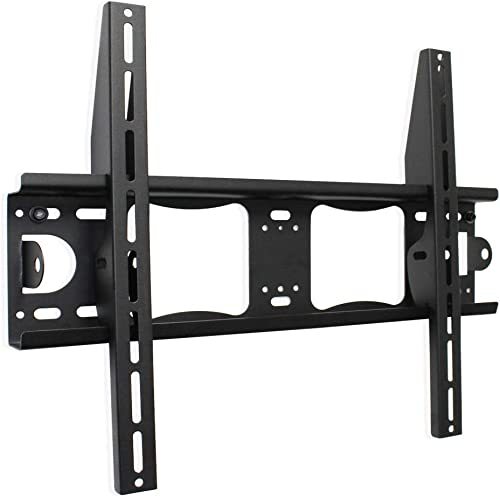 TV Wall Mount with Low Profile for 32-75 inch TVs Continu.us CTM-3000 Tilting Television Wall Mount Bracket. Eliminates Screen Glare – Easy to Install Max Load 88lbs.