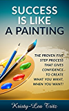 SUCCESS IS LIKE A PAINTING: THE PROVEN FIVE STEP PROCESS THAT GIVES YOU CONFIDENCE TO CREATE WHAT YOU WANT, WHEN YOU WANT IT!