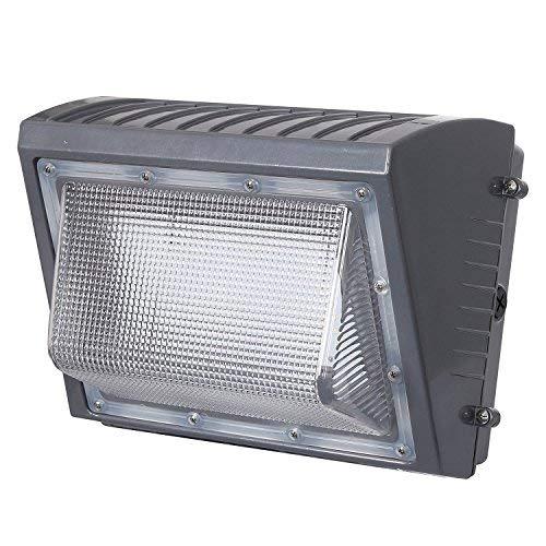 Honeywell 6000 Lumen LED Rectangular Wall Pack Security Light (Outdoor Sensor Honeywell)