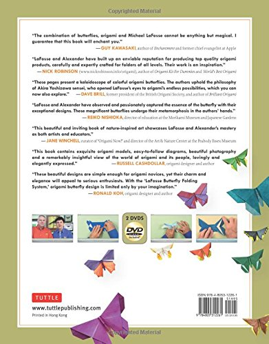 michael lafosses origami butterflies elegant designs