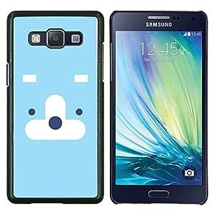 EJOOY---Cubierta de la caja de protección para la piel dura ** Samsung Galaxy A5 A5000 ** --Naturaleza de Moutnain Consejos