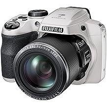 Fujifilm FinePix S9400W / S9450W - 16.2 Megapixel CMOS, 50x Zoom, WiFi Digital Camera with 3.0-Inch LCD Display - White (Certified Refurbished)