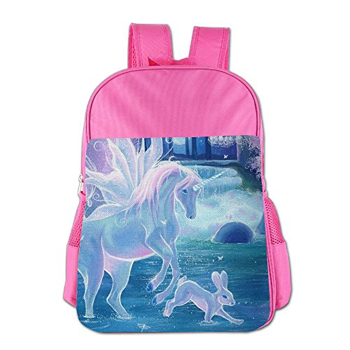 Painting Dream Unicorn Rabbit Children's Backpack School Bag Suitable For 4-15 Year Olds