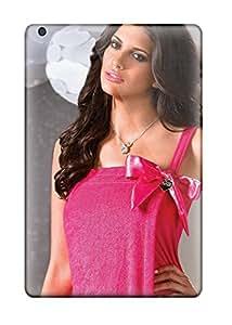 esra aldehaim Ipad Mini/mini 2 Hybrid Tpu Case Cover Silicon Bumper Hipe In Hot Pink Dress