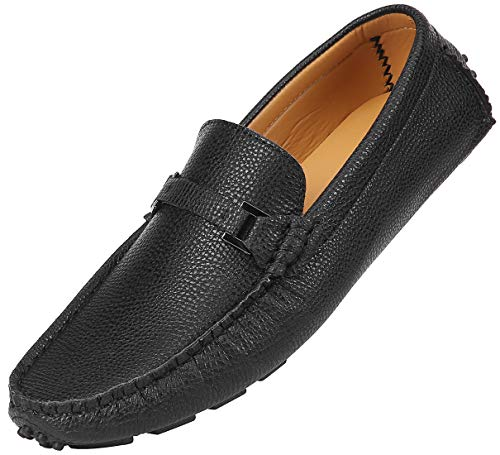 f7548fce4b7ed Mio Marino Mens Loafers - Italian Dress Casual Loafers for Men ...