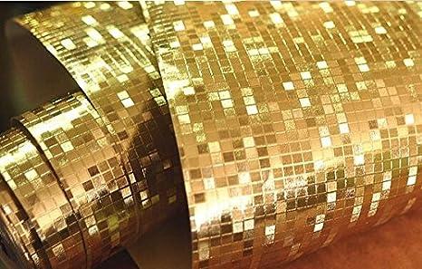 Pareti Glitter Oro : Junran mini mosaico lusso glitter mosaic sfondo sfondo lucido