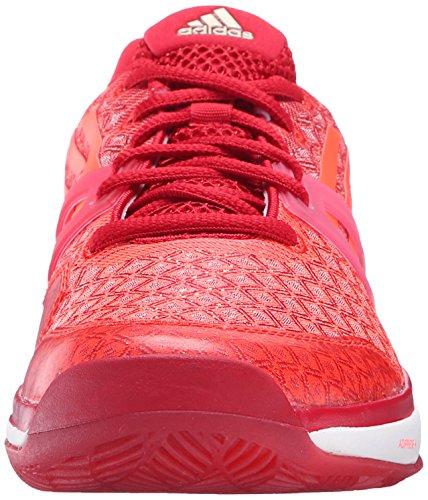Adidas Adizero Rendimiento Ubersonic W Formación de zapatos, choque rosa / blanco / semi limo solar Power Red/Solar Red/White