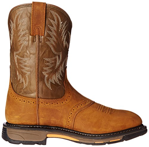 Ariat Mens Workhog Dra-on Boot Åldern Bark / Militärgrön