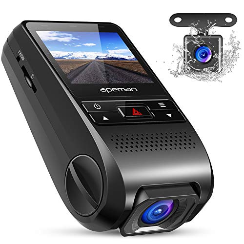 Car Dash Camera Covert Recorder Dual Car Cam, LCD, 170 Wide