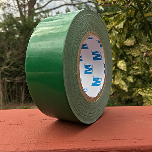 MG888 Green Colored Duct Tape Roll 1.88 inches x 60 Yards for Repairs, Crafts, DIY, Multi Purpose
