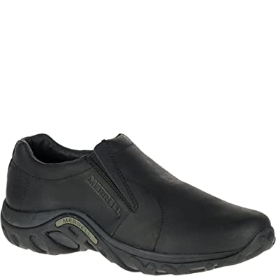 e490ddb61735d Merrell Men's Jungle Moc Leather Slip-On Shoe,Midnight Slip-On Shoe,