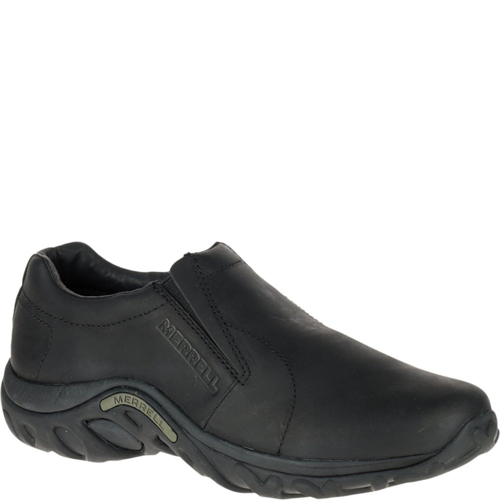 Merrell Men's Jungle Moc Leather Slip-On Shoe,Midnight Slip-On Shoe,10.5 M US