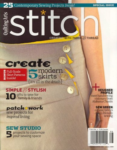 Arts Stitch Magazine Quilting (Stitch, Winter 2008 Issue)