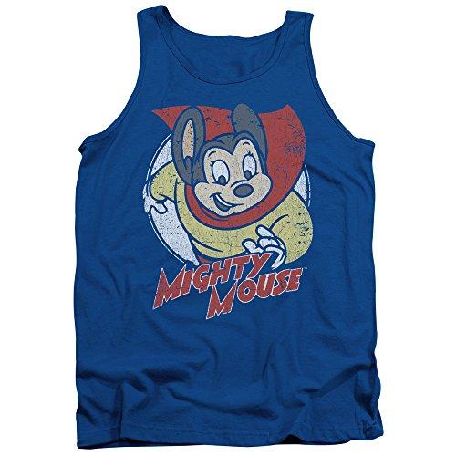 Per Volare Cartone Mighty Animato Uomo Supereroe Mouse Camicia Canottiera qnAaTwa0x5