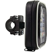 Arkon SM032 Bicycle and Motorcycle Handlebar Mount With Water-Resistant Case For Smartphones