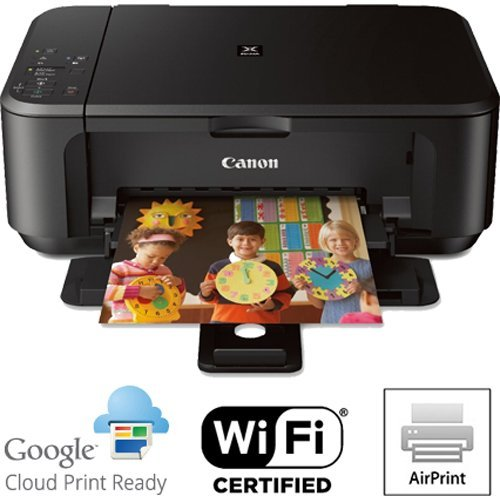 Canon PIXMA MG3520 Wireless Color Printer with Scanner and Copier