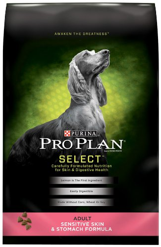 Purina Pro Plan Dry Adult Dog Food, Sensitive Skin and Stomach Formula, 6-Pound Bag, My Pet Supplies