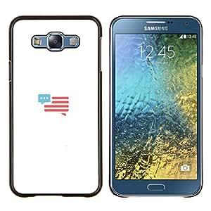 TECHCASE---Cubierta de la caja de protección para la piel dura ** Samsung Galaxy E7 E700 ** --tienes un mensaje