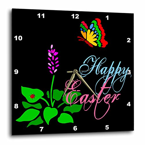 Alexis Design - Holidays Easter - Butterfly, spring flower, red