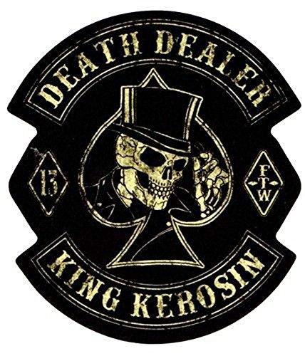 King Kerosin Death-Dealer Regular T-Shirt Schwarz Gr. L