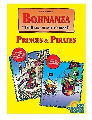 Rio Grande Games Bohnanza Expansion Princes and Pirates Card Game by Rio Grande Games Bohnanza Rio Grande Games