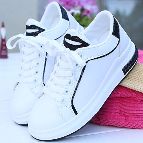 KHSKX-Die Neuen Winter Dicke Weiße Schuhe Han Alle Übereinstimmen Lässige Schuhe Schuhe Studenten Schuhe Forty