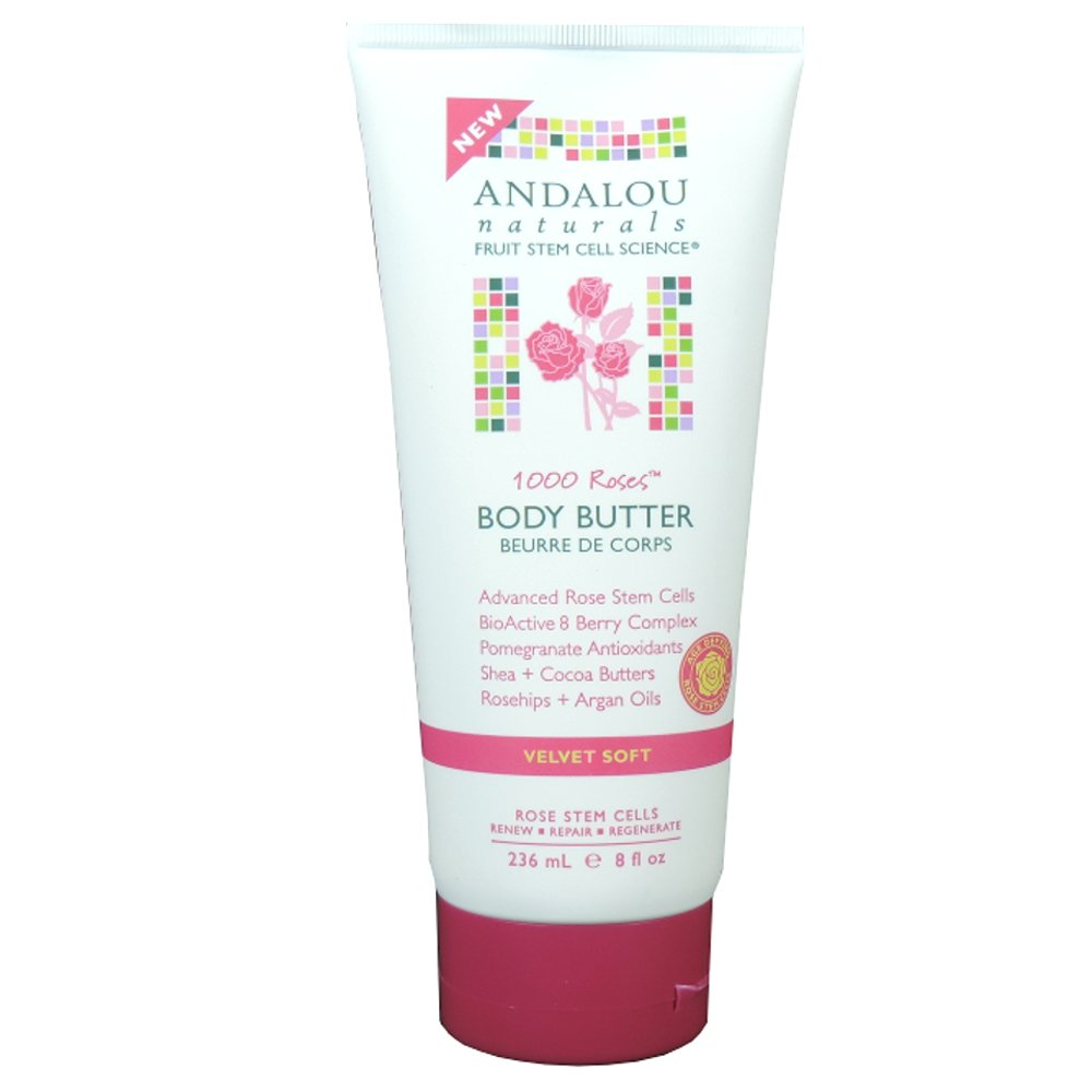 Andalou Naturals - 1000 Roses - Body Butter - 236ml (Case of 6)