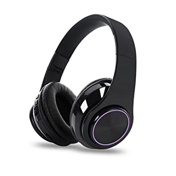 Bluetooth Auriculares Over Ear, qilian Wireless Auriculares Bluetooth Headphones con micrófono, Auriculares inalámbricos anulación, Wired Headset para ...