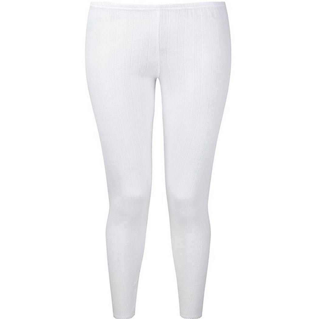 Ladies Thermal Underwear Long John Brushed Inside 0.45 TOG with Free Bed Socks