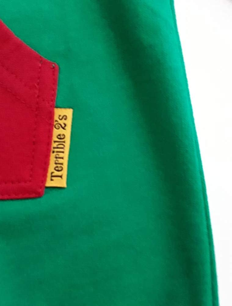 2d8e359f2519 Amazon.com  Strip-Proof Toddler Romper with a Back Zipper in Green Red   Clothing