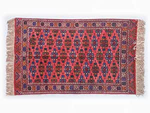 Pure Natural Silk Turkmen Elite Handmade Rug (1.13m X 1.8m)