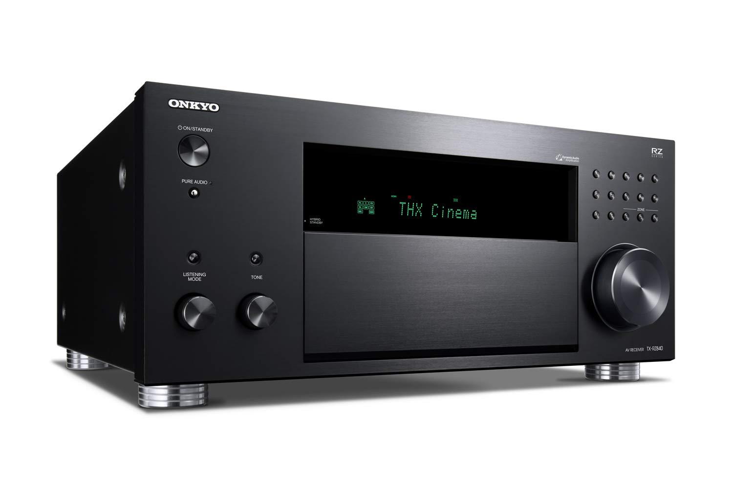 Receptor AV de 9.2 Canales Onkyo TX-RZ840(B) (THX Cinema Sound ...