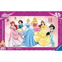 Ravensburger 15 Parça Küçük Çerçeveli Puzzle Prensesler