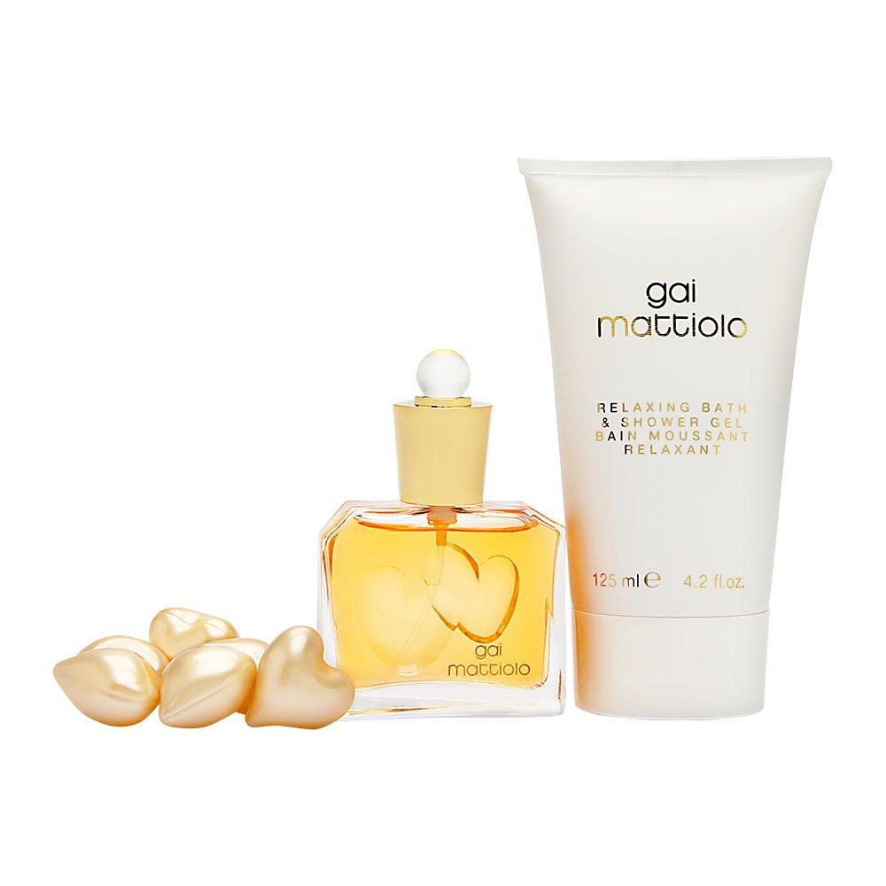 Gai Mattiolo by Gai Mattiolo for Women 3 Piece Set Includes: 1.0 oz Eau de Toilette Spray + 4.2 oz Bath & Shower Gel + 6 Bath Pearls