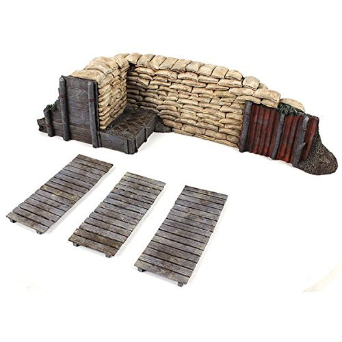 W. Britain 51041 WWI / WWII Trench Section with Duckboards ()