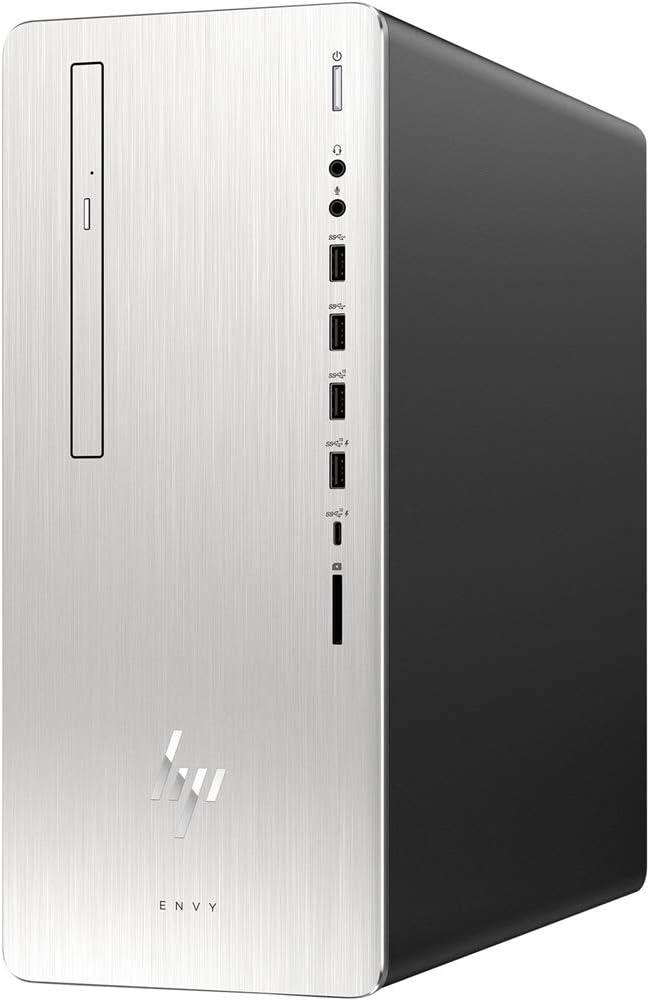 HP Envy 795-0037C Desktop PC - Intel Core i7-8700 3.2GHz 12GB 2TB DVDRW Windows 10 (Renewed)