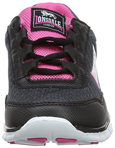 Charcoal Shoes Black Grau Pink Women's Multisport Southwick Outdoor Lonsdale xAIYYg